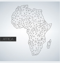 geometric africa madagascar continent light vector image