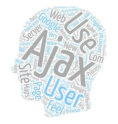The feel of the web text background wordcloud vector