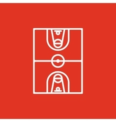 The basketball icon Basketball symbol Flat vector image vector image