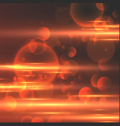 abstract glowing light background vector image
