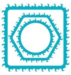 Azure Frames vector