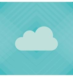 cloud icon design vector image