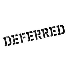 Deferred stamp rubber grunge vector