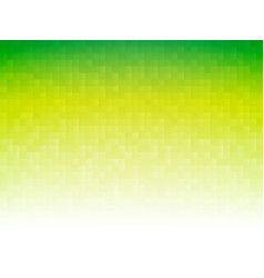 green mosaic tile background vector image