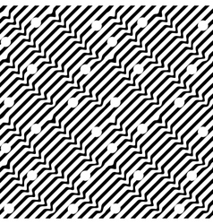 Seamless pattern wavy line 03-08 vector