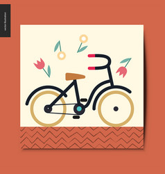 Simple things - bicycle vector