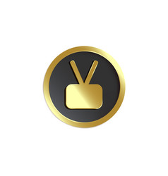 Walk fame icon category television vector