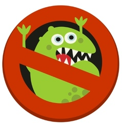 Bun sign to virus aggression vector
