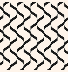 geometric seamless pattern with mesh grid vector image