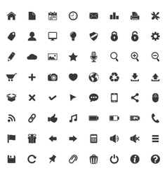Set of icons for web and mobile application vector image vector image