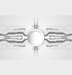 abstract technological background concept with vector image