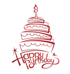 Birthday Cakes Vector Images Over 38 000
