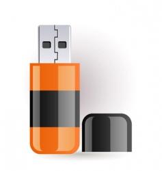 Flash drive vector