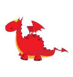 nice dragon vector image