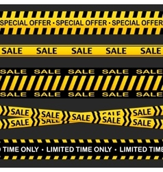 Sale cross line sign Advertising black vector