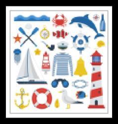 Sea Icon Set vector