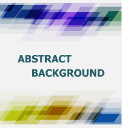 abstract geometric overlapping dark tone vector image vector image