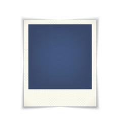 blank photo frame vector image