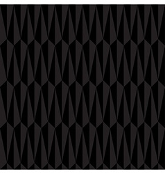 Black Abstract Geometric Seamless Pattern vector image