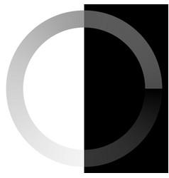 circular preloader buffer loader element w vector image