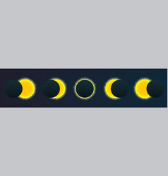 eclipce vector image