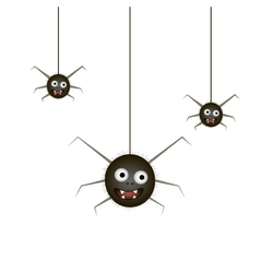 Funny spider vector