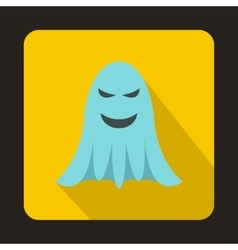 Ghost icon in flat style vector
