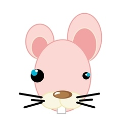 Mouse animal cartoon vector