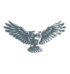Owl - icon design vector