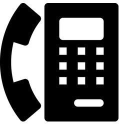 Payphone vector