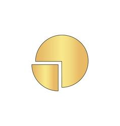 Pie chart computer symbol vector