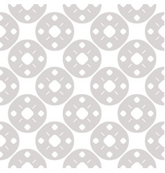 Simple geometric seamless pattern with small lines vector