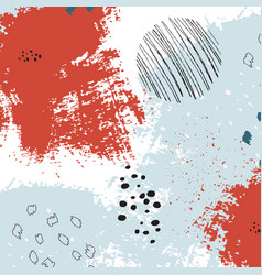 Bright painted texture freehand graphic vector