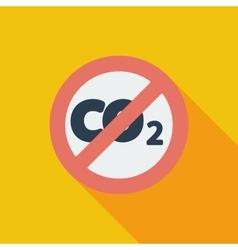 CO2 icon vector image