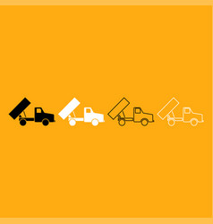 dumper it is white icon vector image