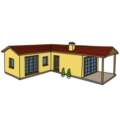 Low house vector image