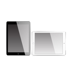 Realistic tablet with blank screen vector