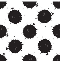 spilled oil pattern vector image