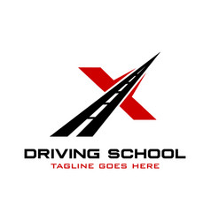 Writing x road vector