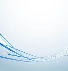 Blue speed lines business abstract background vector image vector image