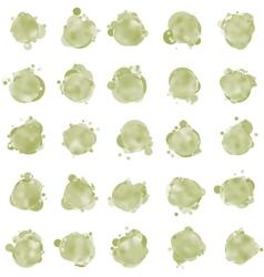 bubbles elements vector image