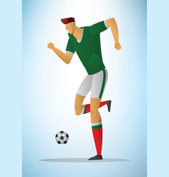 football player 26 vector image vector image
