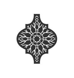 arabesque icon design template vector image