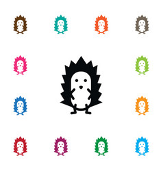 Isolated spiny icon prickly element can be vector