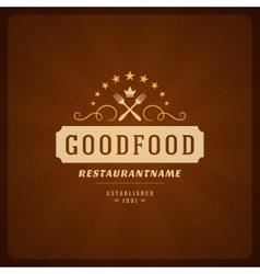 Restaurant Shop Design Element vector