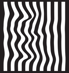 Striped seamless abstract background black and vector