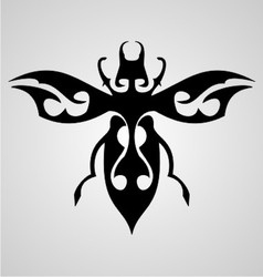 Bugs Tattoo Design vector image vector image