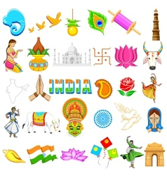 Indian Icon vector image
