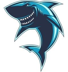 Sharks logo vector image vector image