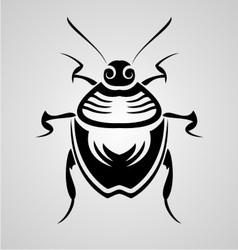 Bugs Tribal vector image vector image